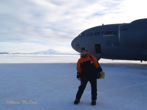 My first steps onto the Antarctic continent