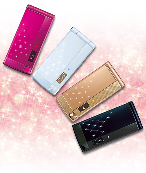docomoSTYLEseries F-02B mobile phones
