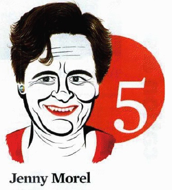 The Listener paints Jenny Morel... ouch