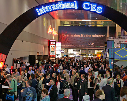 Gadget central at CES this year