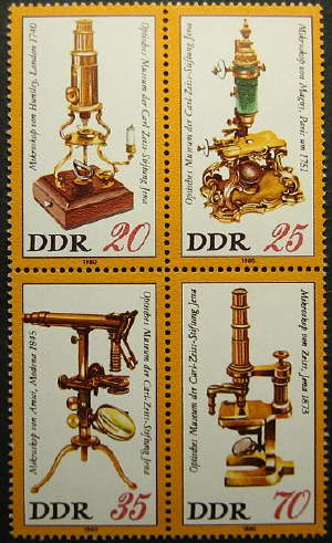 microscope-stamps