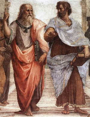 Plato and Aristotle (Source: wikipedia)