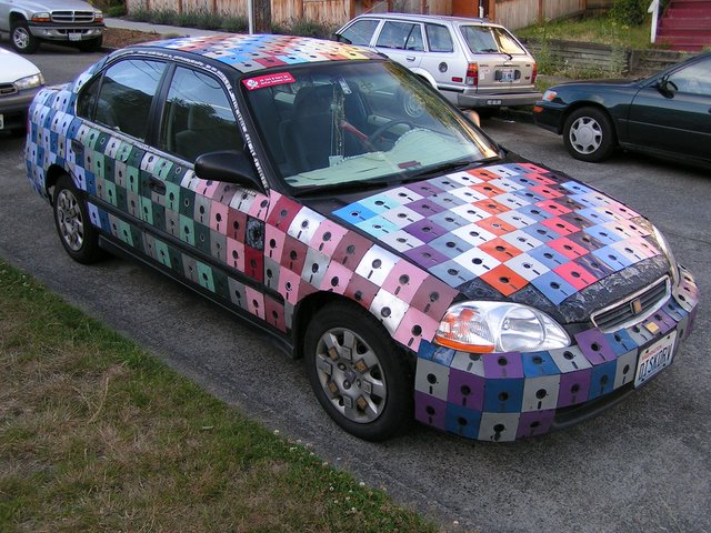 Creative use of floppy disks