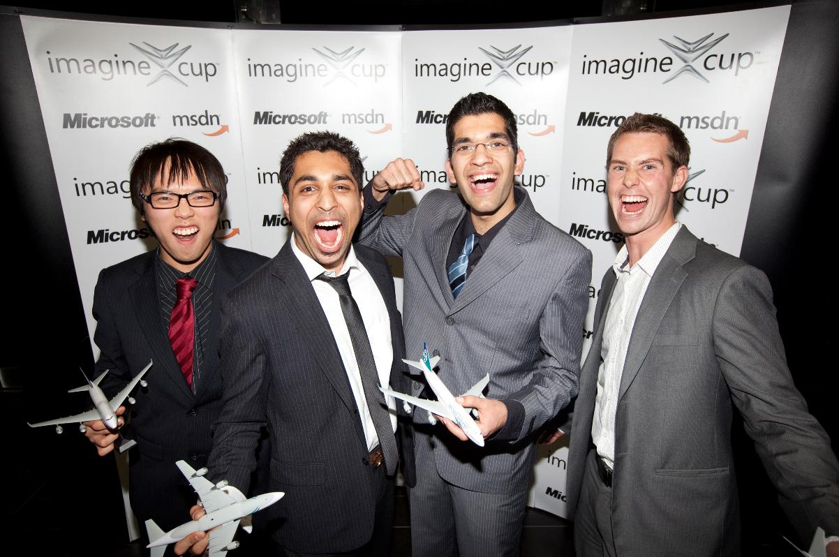 Team One Beep - Imagine Cup winners for New Zealand