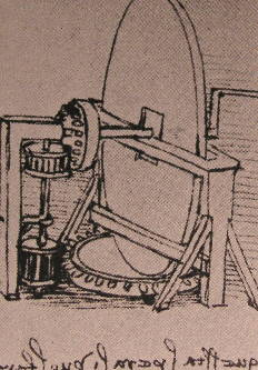 (Machine for grinding convex lenses. Source: Wikimedia Commons.)