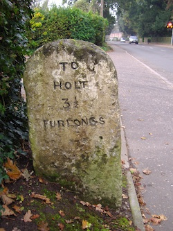 Holt milestone (Source: Wikimedia Commons.)