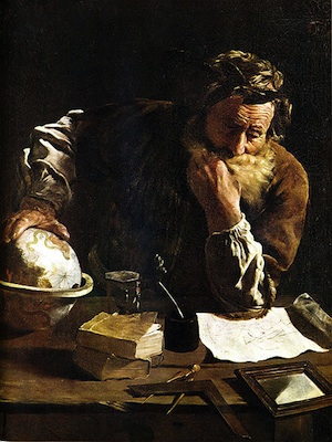 Archimedes (c.287—212 BC), by Domenico Fetti (Source: Wikimedia Commons.)