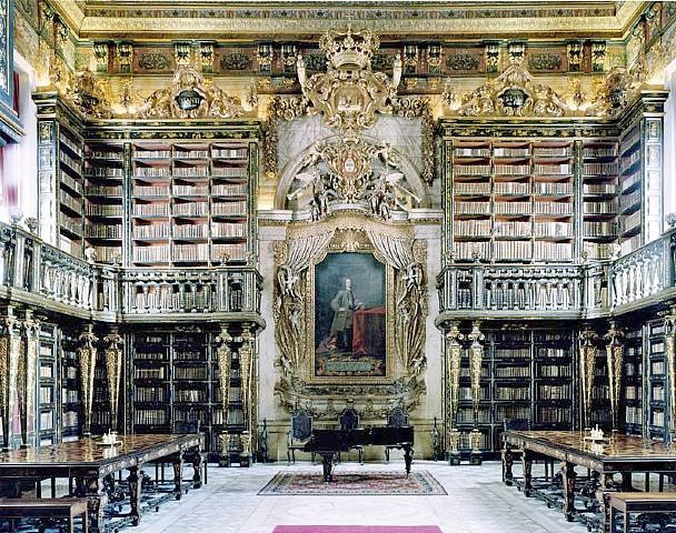 Biblioteca Geral, University of Coimbra, Portugal