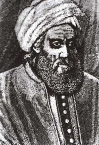 The word algorithm stems from the Latin version of Muhammad ibn MÅ«sā al-KhwārizmÄ«'s name (Source: Wikimedia Commons.)