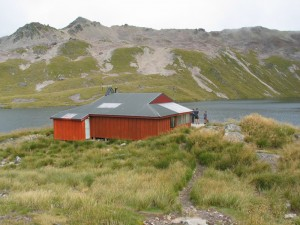 Previous Lake Angelus Hut
