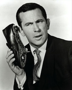 Maxwell Smart, aka Agent 86. (Source: Wikimedia Commons.)