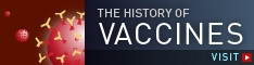 history of vaccines banner