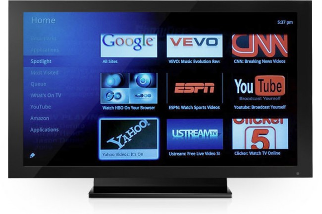 Google TV - merging internet services and digital TV