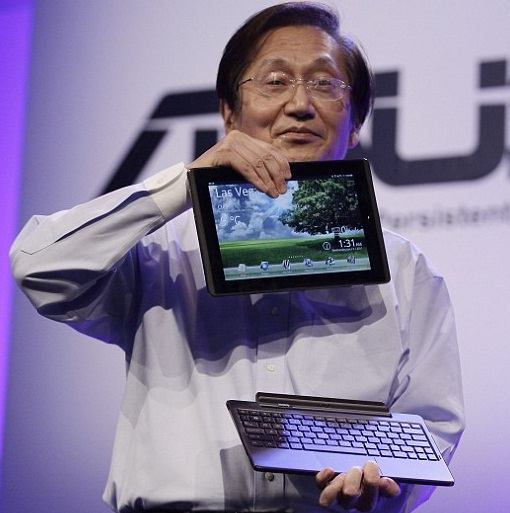 Asus chief executive Jonny Shih