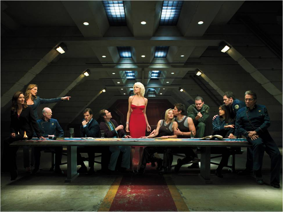 BSG: seriously scintillating sci-fi