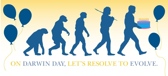 The American Humanist Society is offering Darwin Day e-cards that you can ...