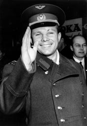 Yuri Gagarin in Sweden