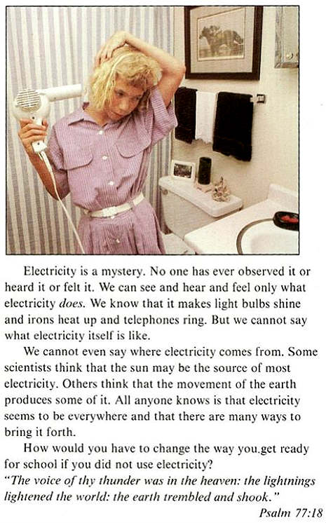creationist electricity