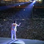 Queen at Wembley Stadium