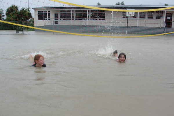Backyard Swimming Hole.   Source: stuff.co.nz
