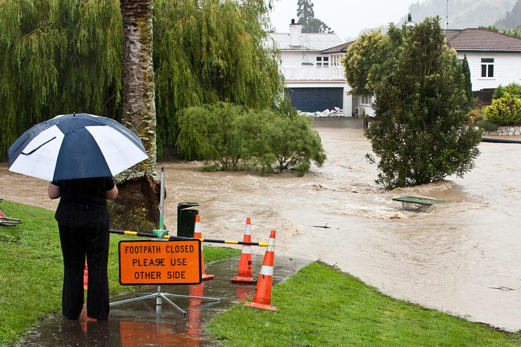 Flooding, Nelson.    source: stuff.co.nz