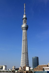 Tokyo Skytree (By Kakidai (Own work) [CC-BY-SA-3.0 (http://creativecommons.org/licenses/by-sa/3.0)], via Wikimedia Commons)