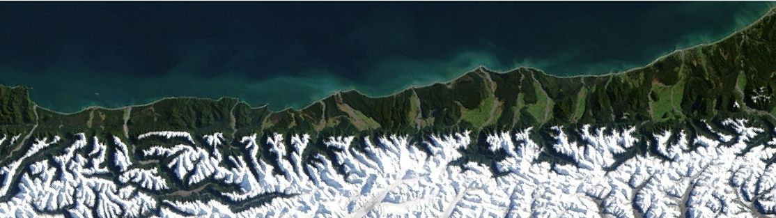 The central section of the Alpine Fault. Source: wiki.gns.cri.nz