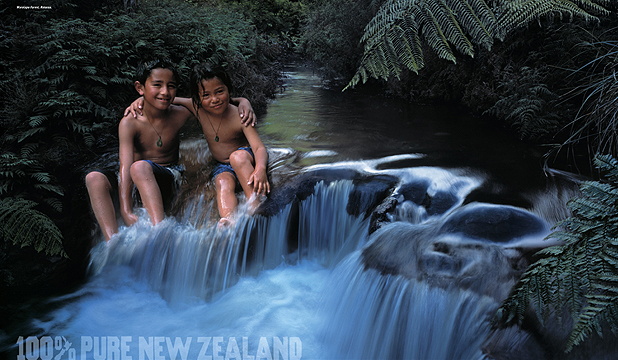 "Tourism New Zealand say ""100% Pure Zealand is not an environmental statement or promise and never has been."" Really?!"