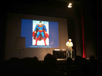 Harold Kroto's dream as a child was to become Superman