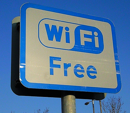 As opposed to free Wifi