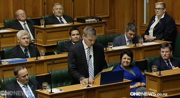 Bill English delivers the 2014 Budget