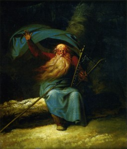 Ossian's Swansong (ca. 1782) by Nicolai Abraham Abildgaard