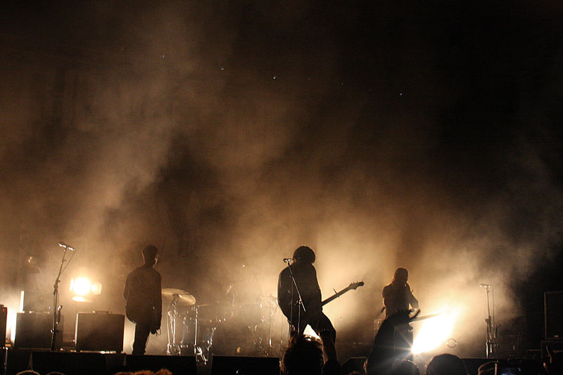 The Vaccines performing at Immergut Festival, Germany in 2013
