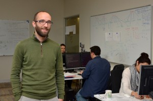 Dr Daniel Stouffer and the Stouffer Lab