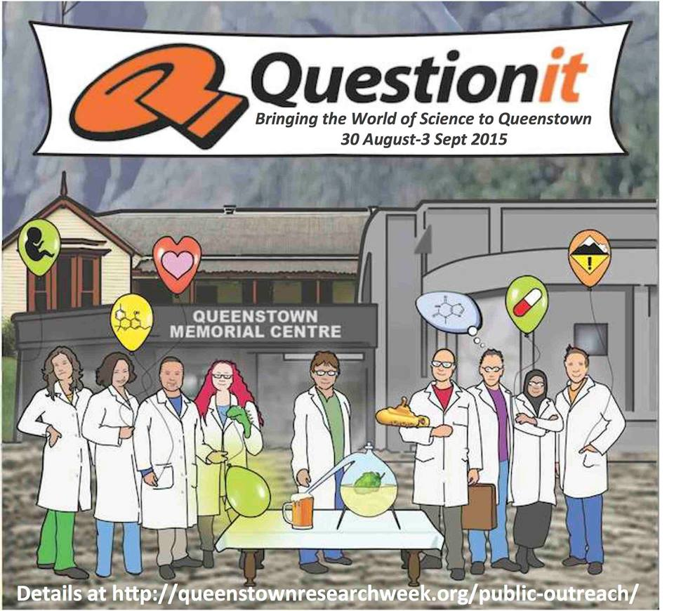 Featured image: Question it! Science in Queenstown