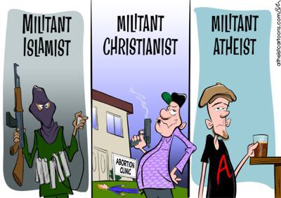 Image: Should all scientists really be militant atheists?
