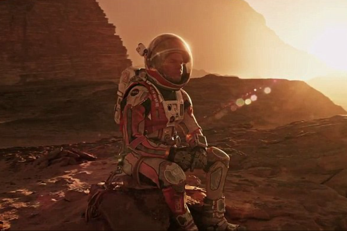 Image: The Martian: Blows Gravity and Interstellar out of the water