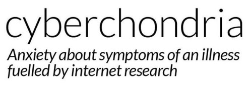 "Featured image: Cyberchondria and similar ""illnesses"""