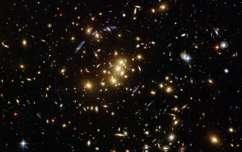 Featured image: Is dark matter really dark?