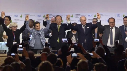 Image: Climate deal signed – now for the hard bit: action