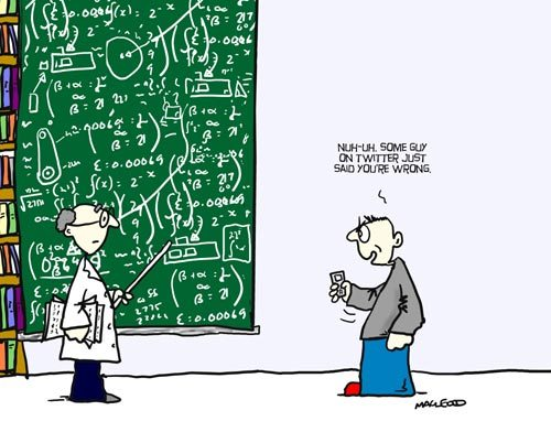 Image: Democracy and expert advice on scientific issues