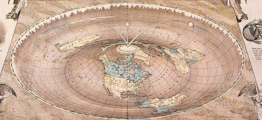 Featured image: Flat wrong: the misunderstood history of flat Earth theories