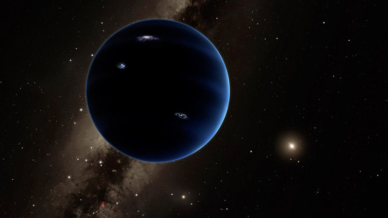 Image: Somewhere out there could be a giant new planet in our solar system: so where is it?