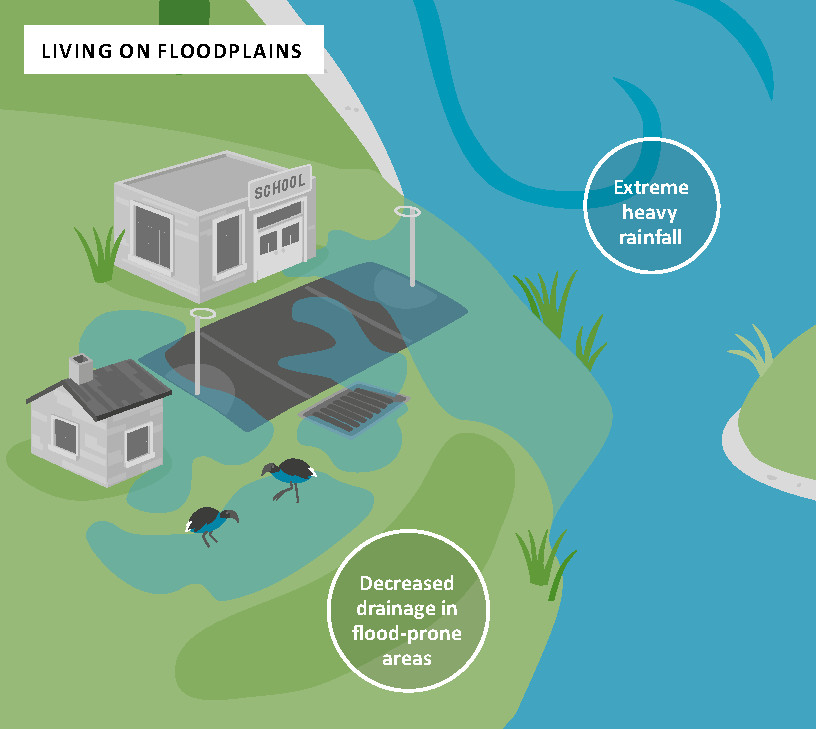 Image: Floods for you; sea level rise for me