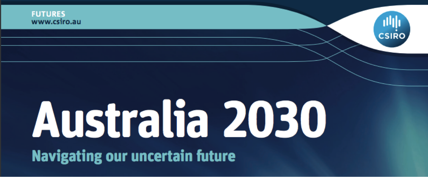 Featured image: Australia 2030 – CSIRO's scenarios