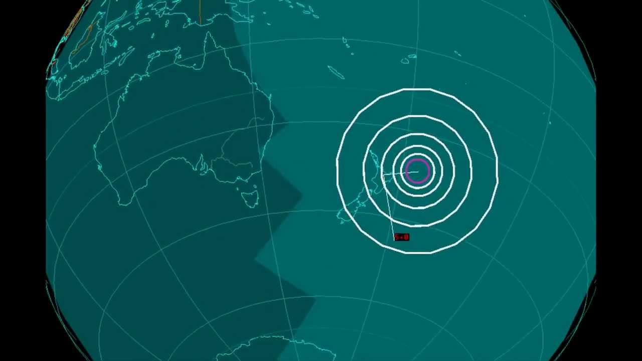 Image: Shallowest slow-motion earthquake recorded off NZ