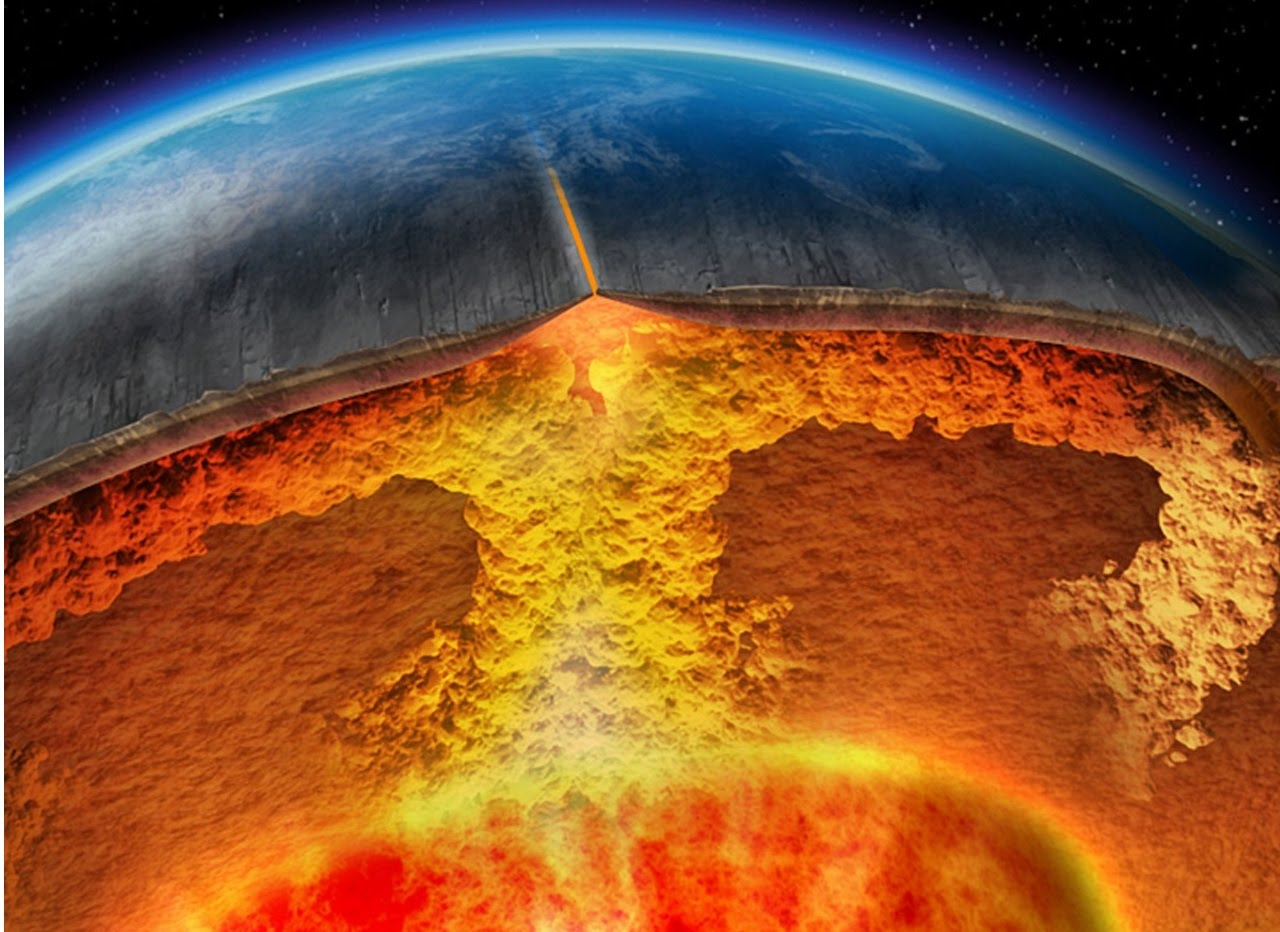 Image: Does a planet need plate tectonics to develop life?