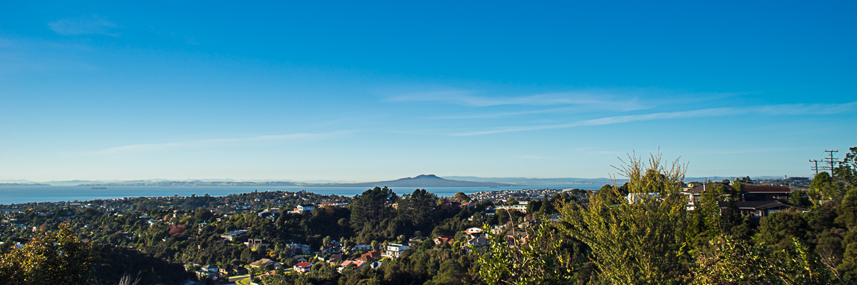 Haruaki Gulf and Rangitoto Island