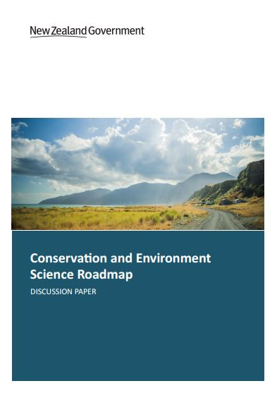 Conservation and Environment Science Roadmap discussion document