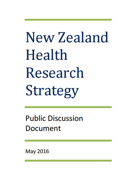 NZ Health Research Strategy